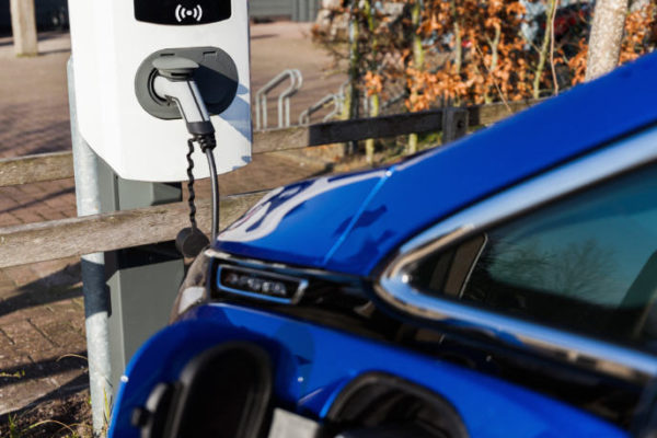 EVE commercial electric vehicle charging station