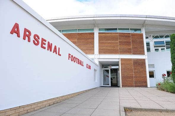 arsenal training ground football pitch control panel installation